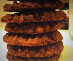 Awesome Chili Double Chocolate Cookies