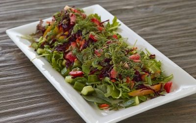 Roasted Red Pepper & Beet Salad