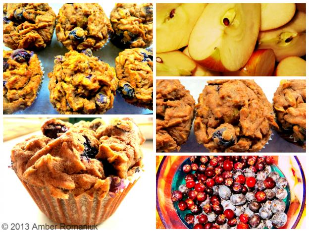 Teff Berry Muffins