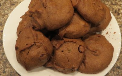 Teff Chocolate Chip Pumpkin Spice Cookies