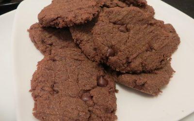 Teff Chocolate Hazelnut Cookies