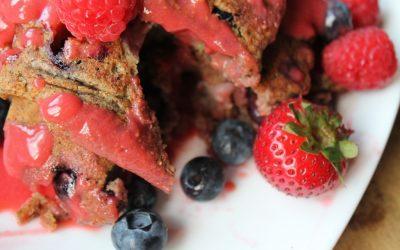 Buckin' Berry Pancakes