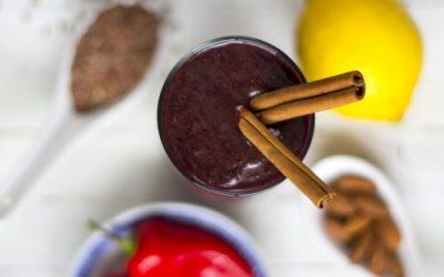 Spicy Berry Smoothie