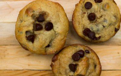 Dan Chen Inspired Chocolate Chip Muffin