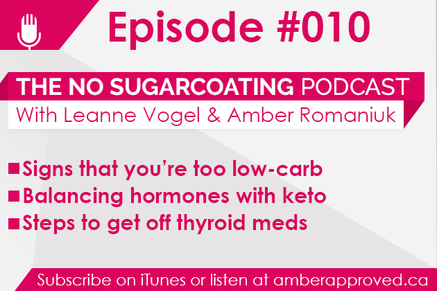 Podcast Episode #010: Too Low-Carb, Period on Keto, and Balancing Thyroid Naturally