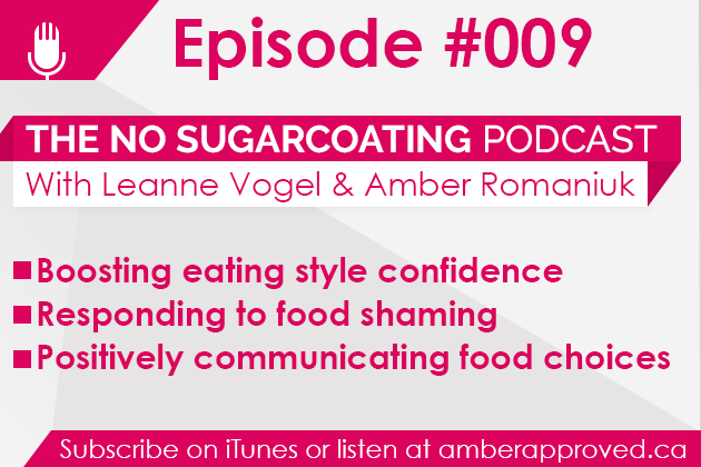 Podcast Episode #009: Boosting eating style confidence and more!