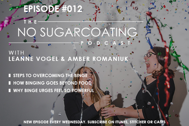 Podcast Episode #012:  Delving in to the topic of Binge Eating!