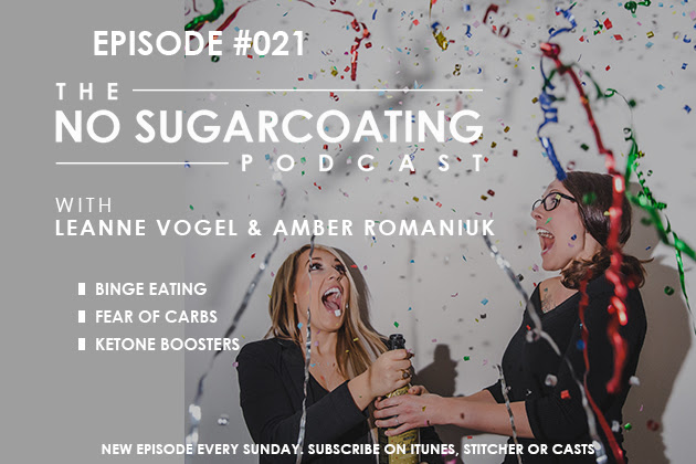 Podcast Episode #21: Fear of Carbs, Binge Eating, and Ketone Boosting
