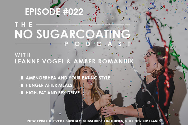 Podcast Episode #22: After Meal Hunger, Amenorrhea, and Keto Libido