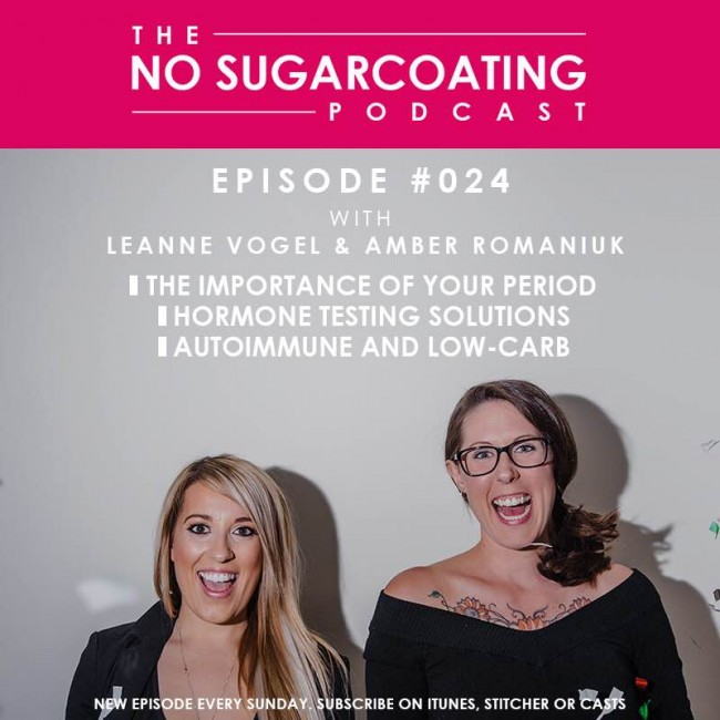 Podcast Episode #24: Your Period, Autoimmune Low-Carb, and Hormone Tests