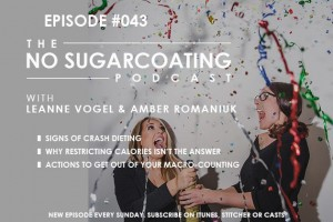 Podcast Episode #43: Signs You're on a Crash Diet, Why You Want Off, and How To Do It