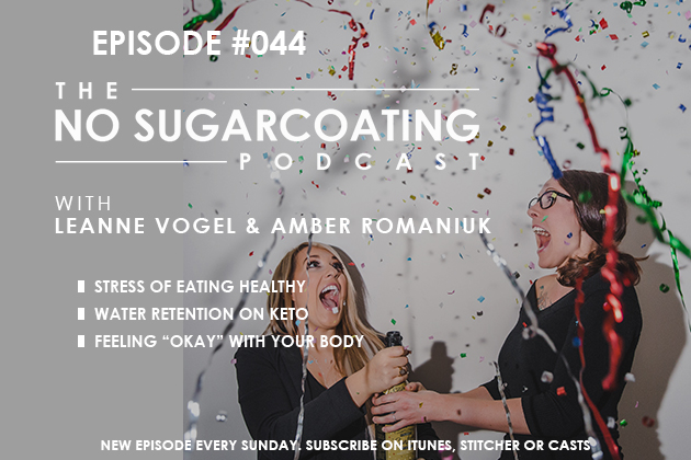 Podcast Episode #44: Eating Stress, Water Retention, and Being Okay with Your Body