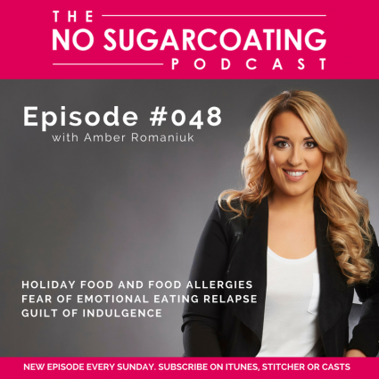 Podcast Episode #48: Holiday Eating & Food Allergies, Fear of Emotional Eating Relapse & Guilt of Indulgence