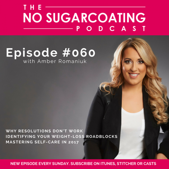 Podcast Episode #060: Why Resolutions Don't Work, Identifying Your Weight-Loss Roadblocks, Mastering Self-Care in 2017