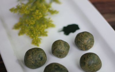Lemon Greens Energy Bites