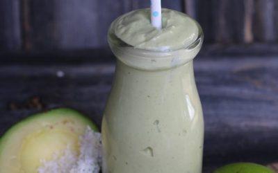 Avocado Lime Smoothie