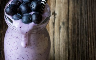 Lighten Up Blueberry Smoothie