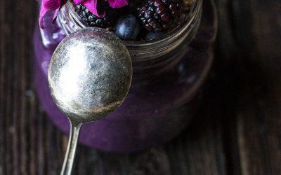 Dark Berry Smoothie