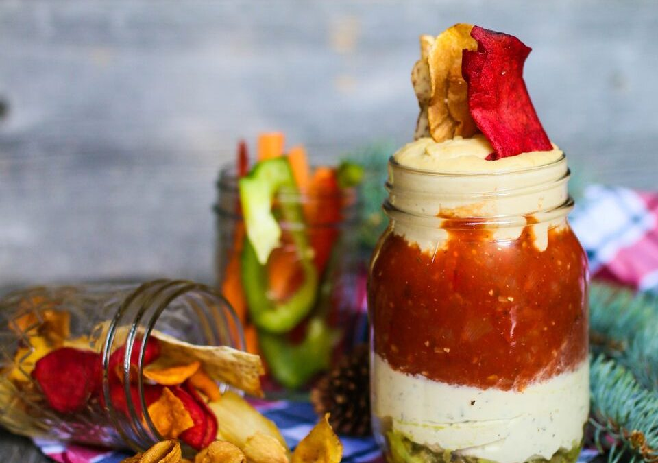 4 Layer Dip in a Jar