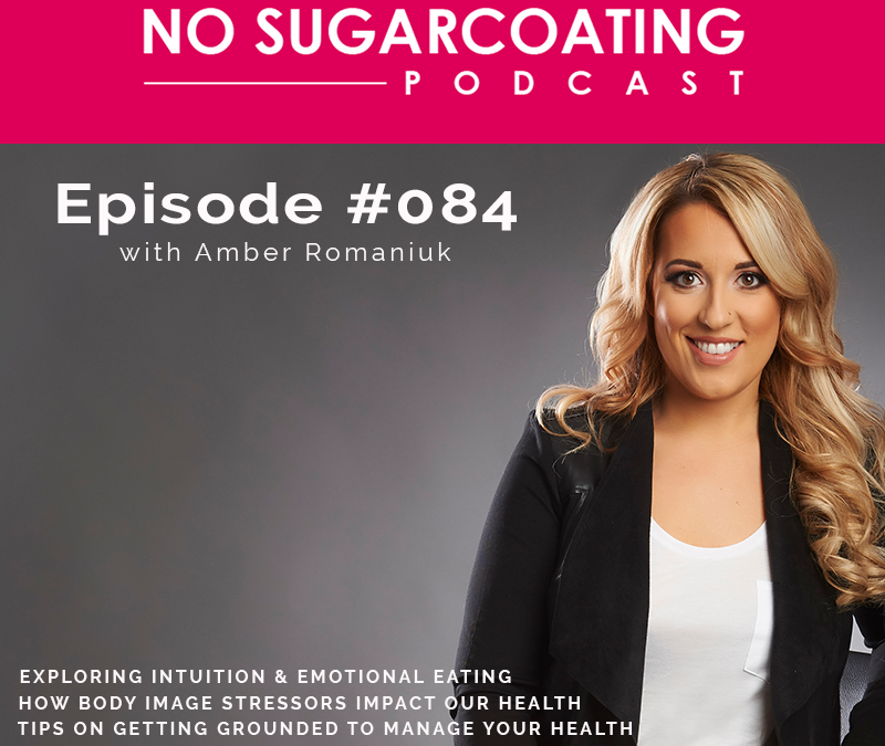 Podcast #084: Exploring Intuition & Emotional Eating, How Body Image Stressors Impact Our Health & Tips on Getting Grounded To Manage Your Health