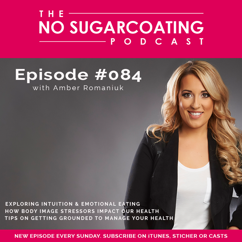 Episode 84- Exploring Intuition & Emotional Eating, How Body Image Stressors Impact Our Health & Tips on Getting Grounded To Manage Your Health