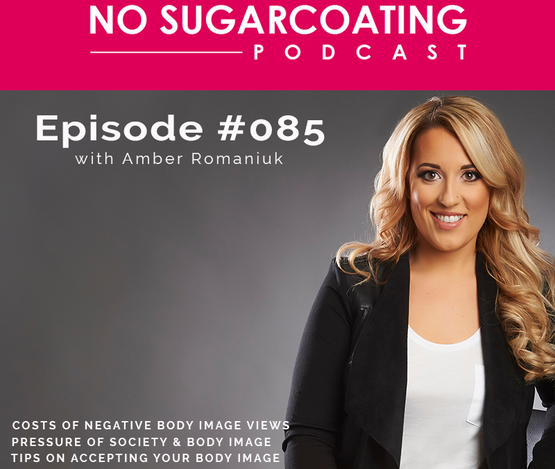 Episode #85: Costs of Negative Body Image Views, Pressures of Society & Body Image & Tips on Accepting Your Body Image.
