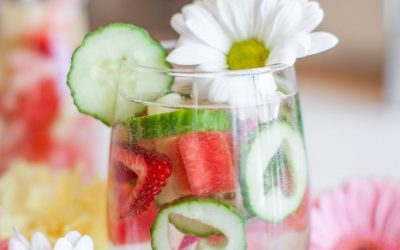 Strawberry Watermelon Cucumber Infused Water