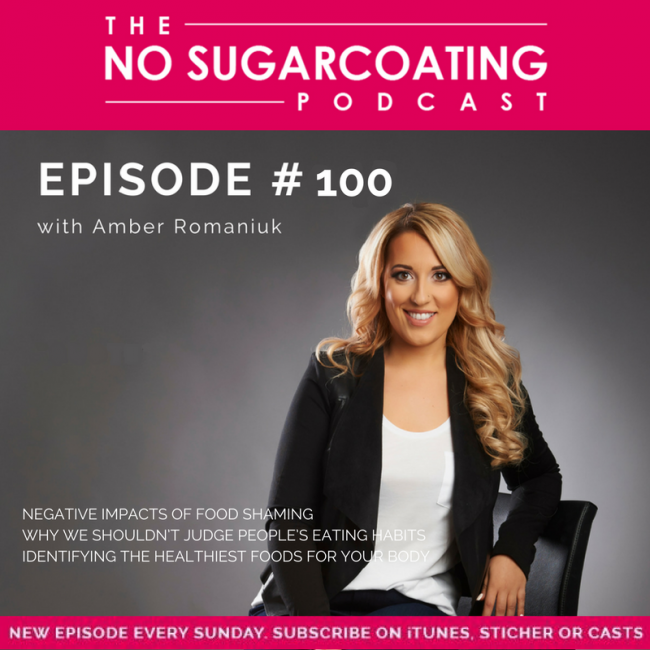 Episode #100: Negative Impacts of Food Shaming, Why We Shouldn't Judge People's Eating Habits & Identifying The Healthiest Foods For Your Body