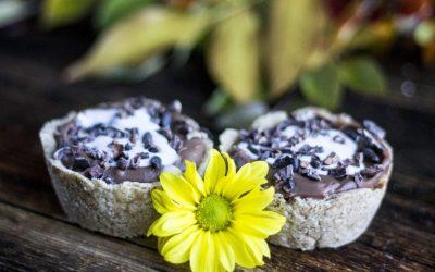 Chocolate Coconut Tarts