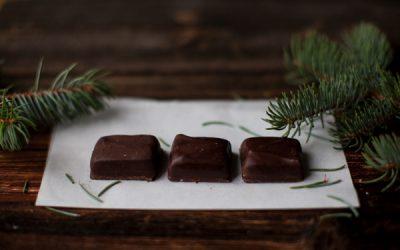 Coconut Filled Dark Chocolate
