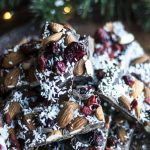 Festive Dark Chocolate Bark