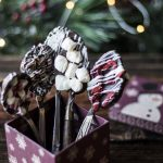 Festive Holiday Hot Chocolate Spoons