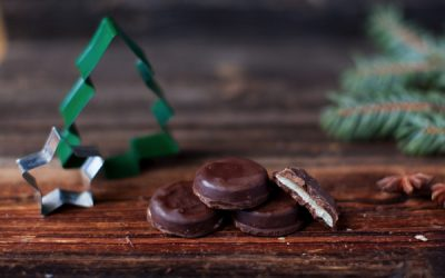 Peppermint Filled Dark Chocolate