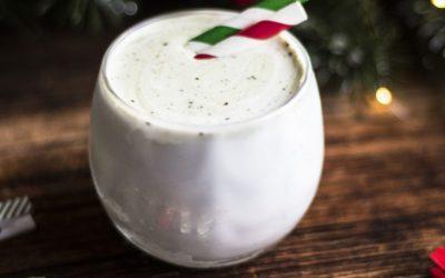 Warm Matcha Mint Drink