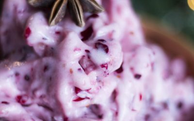 Cranberry Nicecream