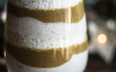 Gingerbread Egg Nog Parfait