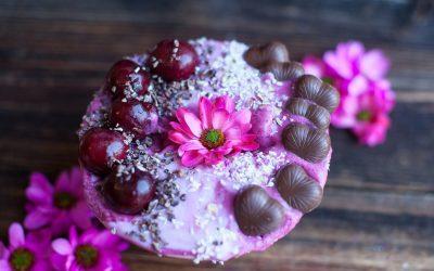 Cherry Chocolate Smoothie Bowl