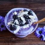 lavender-lemon-blueberry-smoothie-bowl