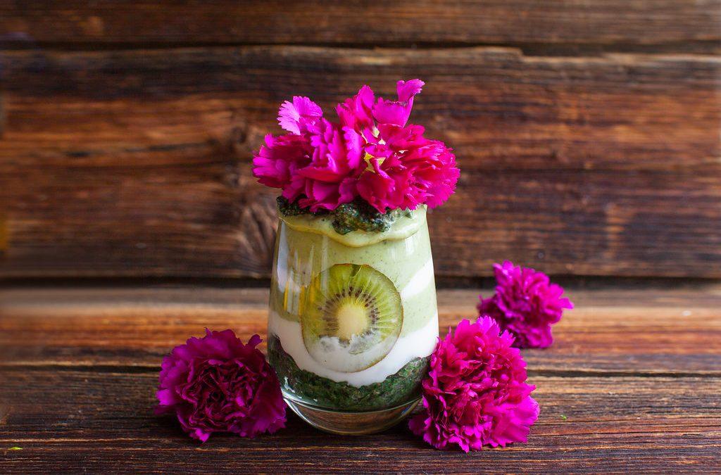 Kiwi Mint Parfait