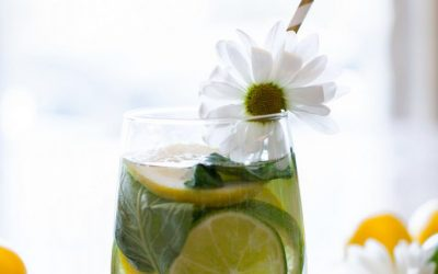 Lemon Lime Basil Infused Water