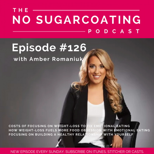 Episode #126 Costs of Focusing on Weight-Loss To Fix Emotional Eating, How Weight-Loss Fuels More Food Obsession with Emotional Eating & Focusing on Building A Healthy Relationship With Yourself