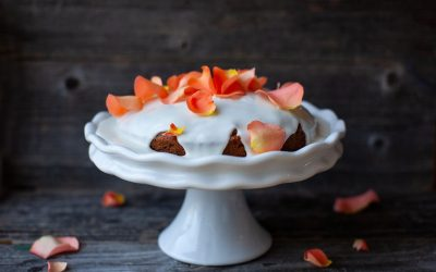 Carrot Cake with Vanilla Icing