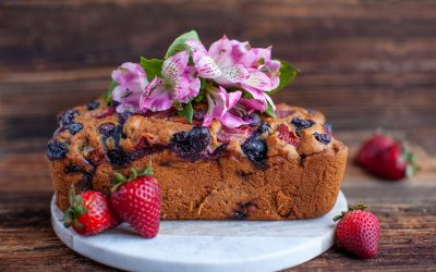 Strawberry Blueberry Loaf