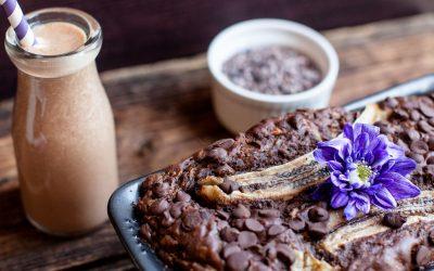 Chocolate Zucchini Banana Loaf