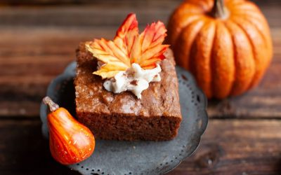 Apple Spice Cake with Chai Coconut Icing