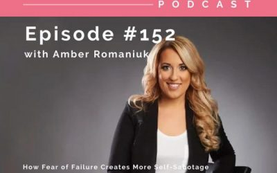 Episode #152 How Fear of Failure Creates More Self-Sabotage, Releasing Fears of Weight Gain and Emotional Eating Relapse & Benefits of Embracing Failure