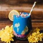 Blackberry Chia Blue Lemon Smoothie