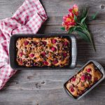 Classic Raspberry Chocolate Chip Loaf