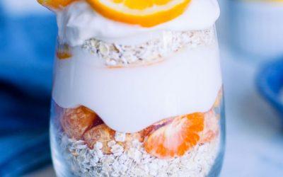 Lemon Orange Overnight Oats