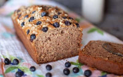 Oat Blueberry Banana Loaf